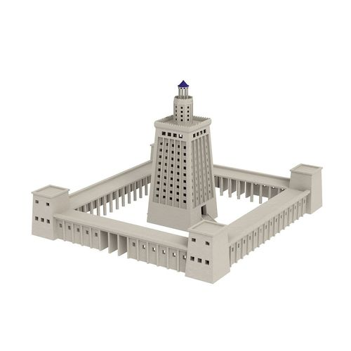 3d Lighthouse Of Alexandria Cgtrader