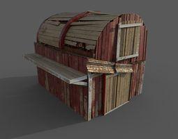 Western Barn 3D model