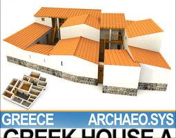 3D Ancient Greek House A