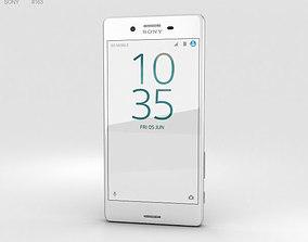 xperia Sony Xperia X Performance White 3D model