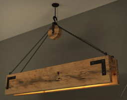 3D WOOD LAMP