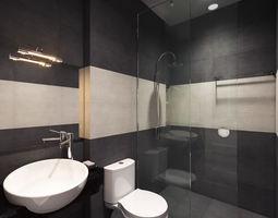 A small premium toilet 3D