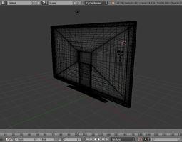 Television 3D asset realtime