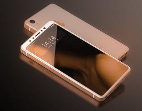 iPhone SE 2 Concept 3D model