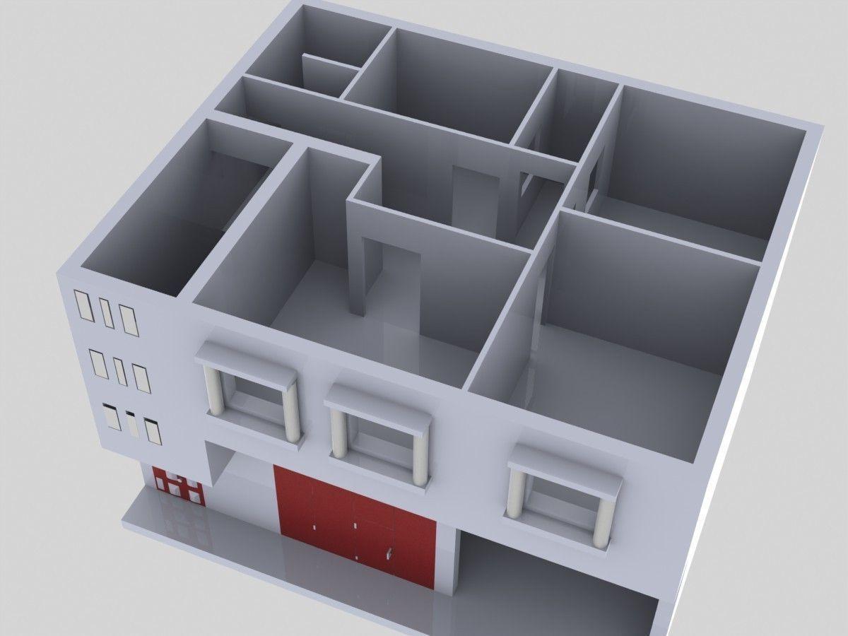 modle maison maison schembri 36 lights brass sputnik light 3d model max obj 3ds fbx mtl 4. Black Bedroom Furniture Sets. Home Design Ideas