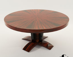 3D Side table - Art Deco style - Design From Cygal Art