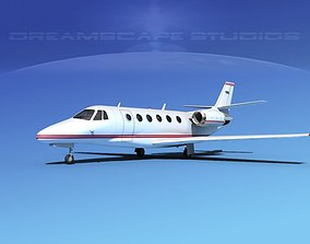 Cessna C560XL Citation V12 3D model