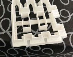 Cookie Cutter Valla Cerca Fence 3D print model