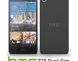 HTC Desire 728 dual sim Black 3D model