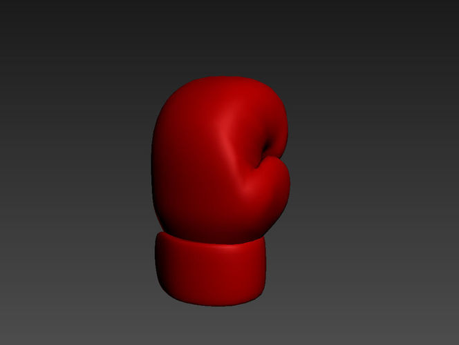 boxing glove 3d model max obj mtl 3ds fbx 1