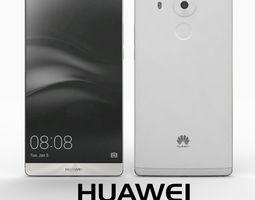 3D Huawei Mate 8 Moonlight Silver