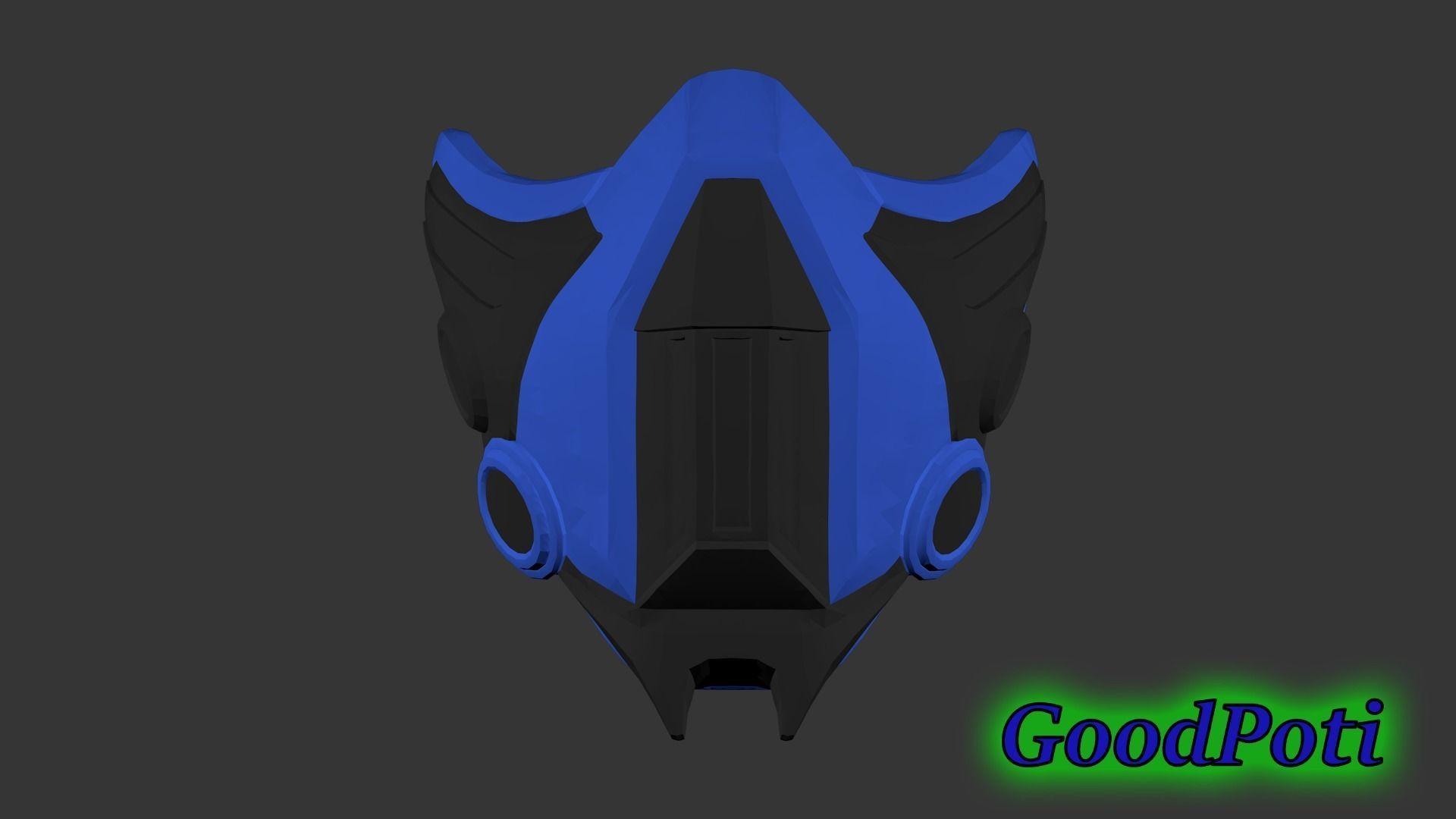 Sub Zero Mask 3d Printable Model Cgtrader