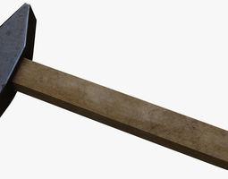 detailed 3D model game-ready Hammer