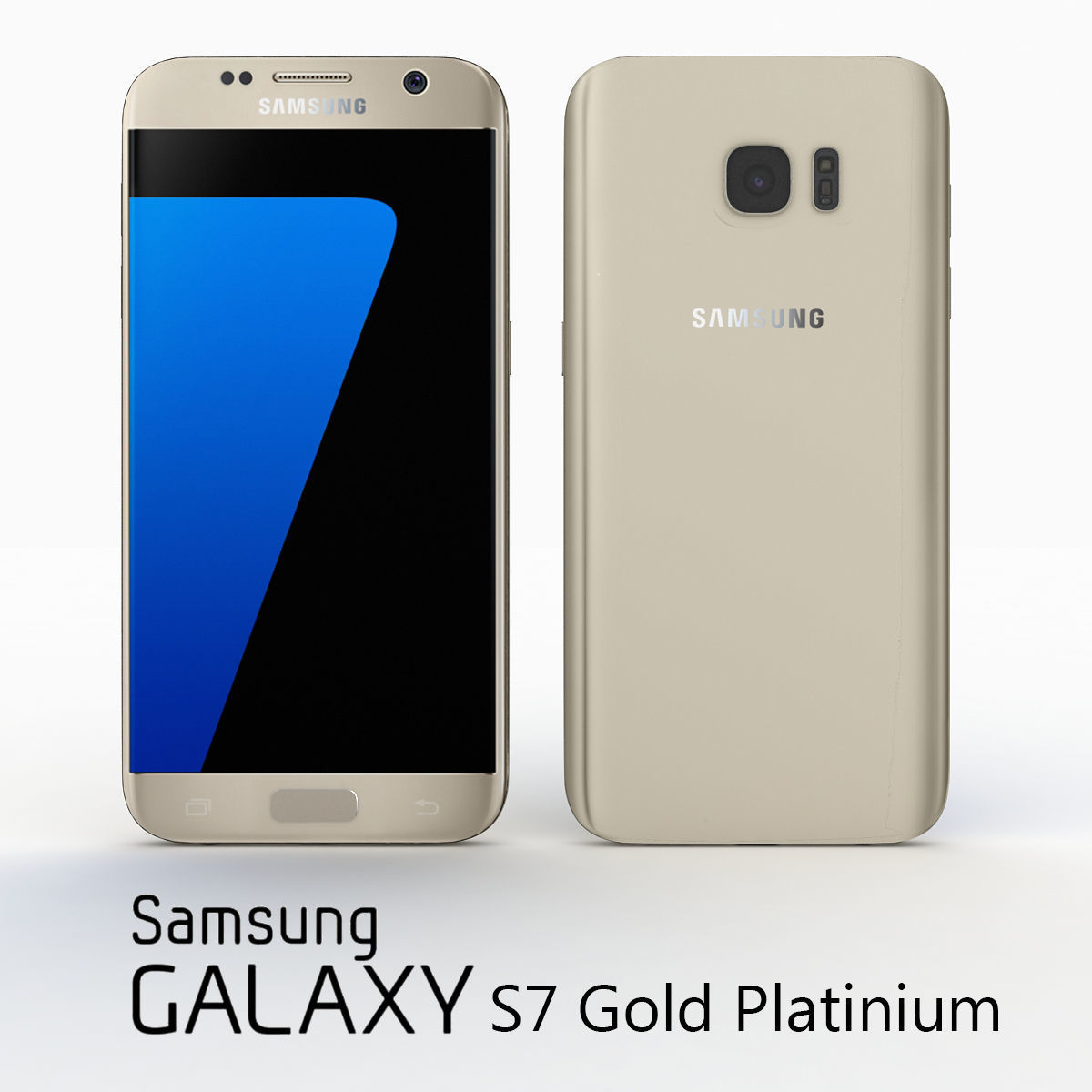 Samsung Galaxy S7 Gold Platinium