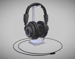 3D asset Headphones
