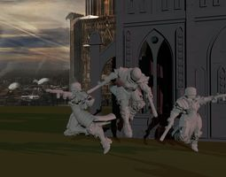 Sisters of War - Angelus Magma Pistol 3D print model