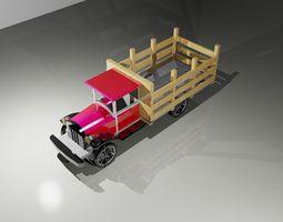 Old Truck 3D printable model