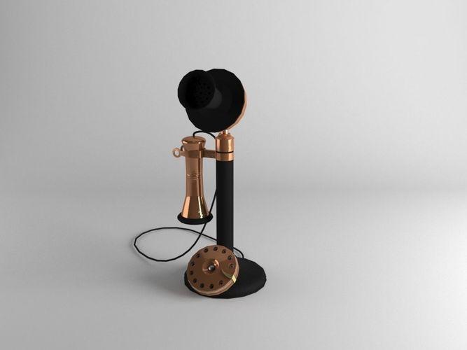 Old Telephone | 3D model