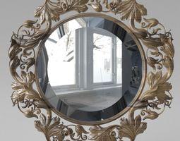 3D model Mirror cnc