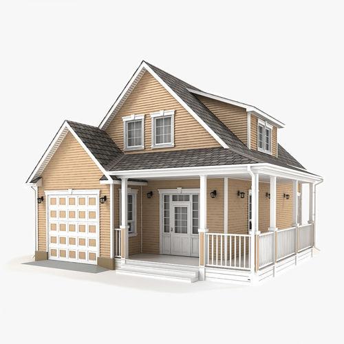cottage 55 3d model max obj mtl 3ds fbx tga 1