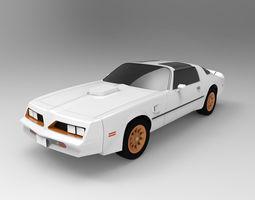 Pontiac Firebird 1978 3D model