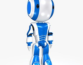 3D model Ao Maru sci fi Japaneses Robot