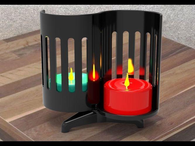candlestick 3d model max obj mtl fbx stl 1