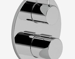 Dorn Bracht bathroom thermostat 3D model