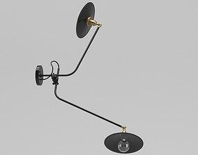 Workstead Bent Wall Lamp 3D