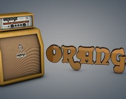 Orange Amps 3D model