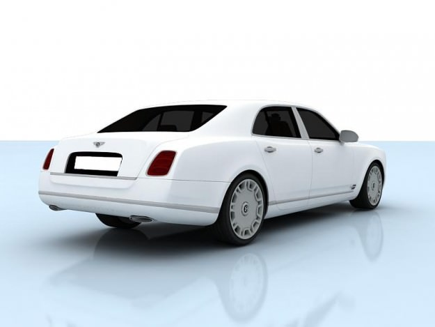 Bentley Mulsanne 2010 3D Model MAX TGA