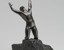 Auguste Rodin The Prodigal Son 3D model