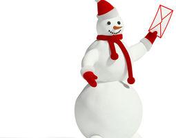 3d snowman 2