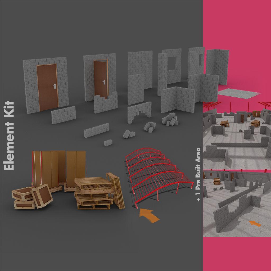 Level Starter Pack for Brick Built Environments