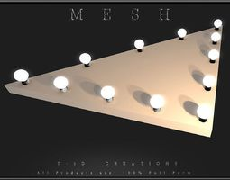 3D model Bulb Stage 08