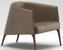 Frigerio Lounge Chair 3D
