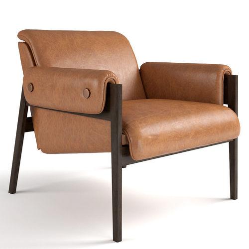 Tremendous West Elm Stanton Chair 3D Model Alphanode Cool Chair Designs And Ideas Alphanodeonline