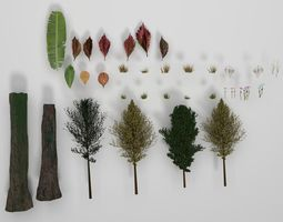beautiful-nature forest pack 3D model