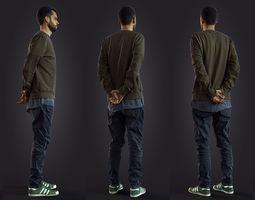 3d scan man 8 jeans