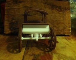 Western Style Wagon 3D printable model