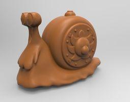 snail Snail 3D printable model