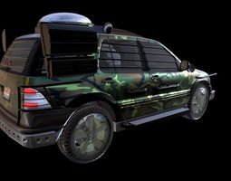 Mercedes Benz ML 430 JP The Lost World Version 3D