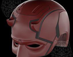 DareDevil 3d printable helmet