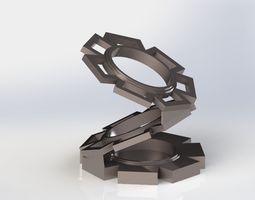 Cog Pen Holder 3D print model