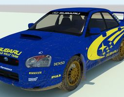 3D model Subaru Impreza Rally