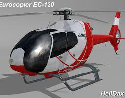 Eurocopter EC-120 HeliDax 3D Model