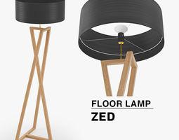 3D model Floor lamp ZED