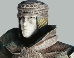 3D model Faith Armorset
