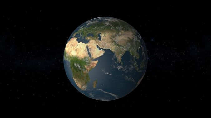 earth printable only stl 3d model stl 1