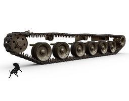 K-9 Thunder  Tracks 3D Model